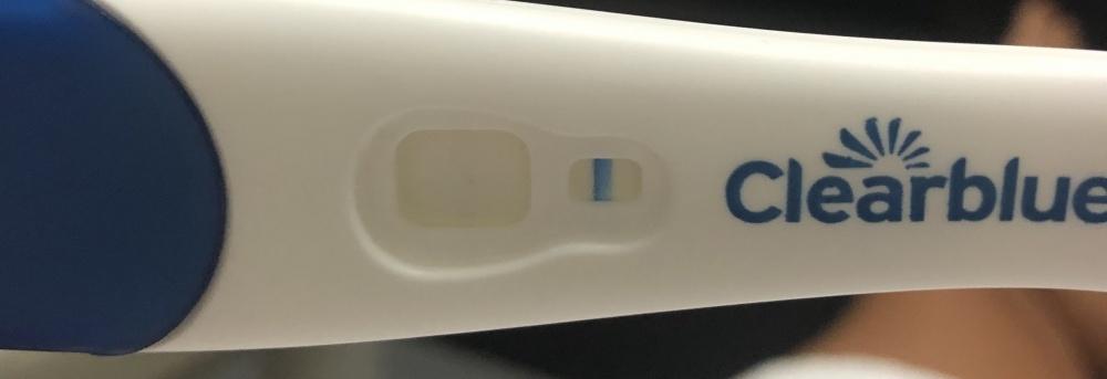 Schwangerschaftstest erst nach stunden positiv